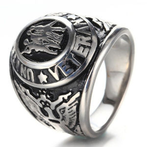 Other - United States Veteran Ring Stainless Steel Unisex